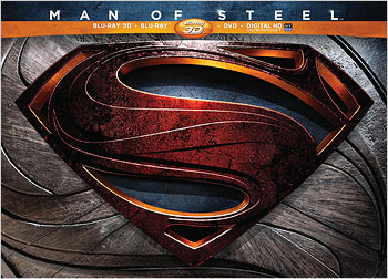 Man of Steel: Limited Edition (Blu-ray 3D box set)