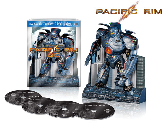 Pacific Rim 3D: Limited Edition Gift Set (Blu-ray 3D)