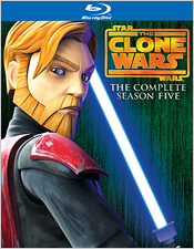 Star Wars: The Clone Wars - Season Five (Blu-ray Disc)