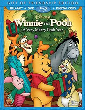 Winnie the Pooh: A Very Merry Pooh year – Gift of Friendship Edition (Blu-ray Disc)