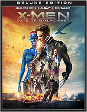 X-Men: Days of Future Past - Deluxe Edition (Blu-ray 3D Combo)