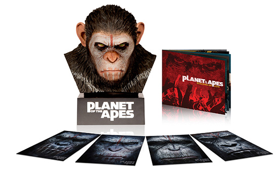 Planet of the Apes: Caeser's Warrior Box (Blu-ray Disc)