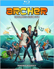 Archer: The Complete Fourth Season (Blu-ray Disc)