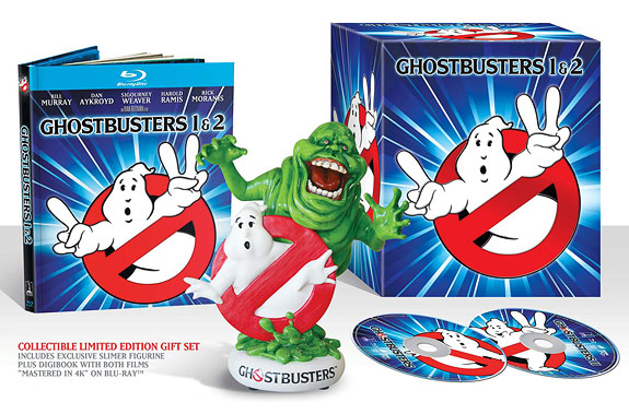 Ghostbusters 1 & 2 Limited Edition (Blu-ray Disc)