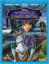 The Adventures of Ichabod and Mr. Toad (Blu-ray Disc)