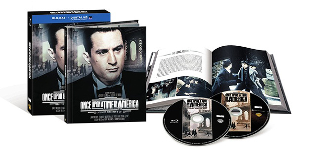 Once Upon a Time in America: Extended Director's Cut (Blu-ray Disc)