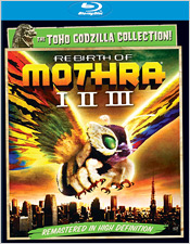 Rebirth of Mothra Trilogy (Blu-ray Disc)