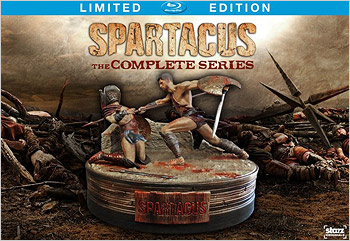Spartacus: The Complete Series - Limited Edition (Blu-ray Disc)