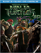 Teenage Mutant Ninja Turtles 3D (Blu-ray 3D)