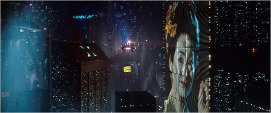 A shot from Blade Runner: The Final Cut