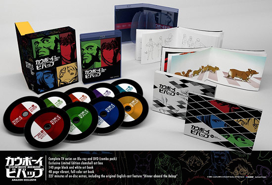 Cowboy Bebop: The Complete Series (Amazon exclusive BD/DVD Combo)