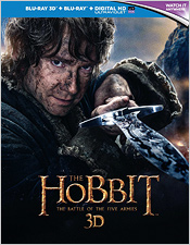 The Hobbit: The Battle of the Five Armies (Blu-ray 3D Combo)