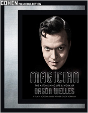 Magician: The Astonishing Life & Work of Orson Welles (Blu-ray Disc)