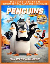 Penguins of Madagascar (Blu-ray 3D)