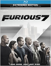 Furious 7: Extended Edition (Blu-ray Disc)