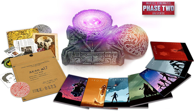 The Marvel Cinematic Universe Phase Two (Blu-ray Disc)