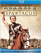 Spartacus: 50th Anniversary Edition (Blu-ray Disc)