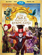 Alice Through the Looking Glass (Blu-ray Disc)