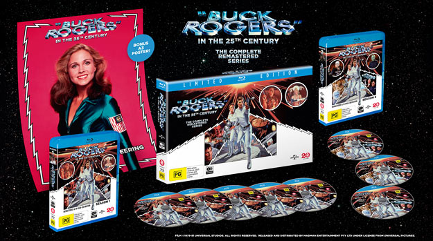Buck Rogers in the 25th Century: The Complete Series (Blu-ray Disc)