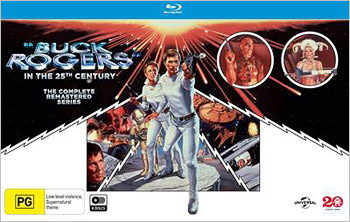 Buck Rogers in the 25th Century: The Complete Series (Region B Blu-ray)