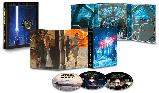 Star Wars: The Force Awakens (Blu-ray 3D packaging)