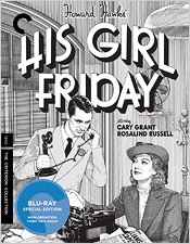 His Girl Friday (Criterion Blu-ray Disc)