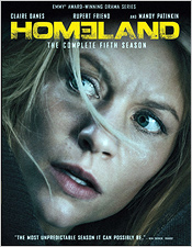 Homeland: The Complete Fifth Season (Blu-ray Disc)