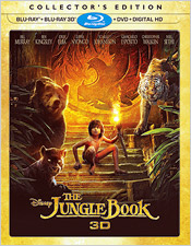 The Jungle Book 3D: Collector's Edition (Blu-ray Disc)