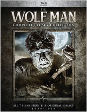 The Wolf Man: Complete Legacy Collection (Blu-ray Disc)