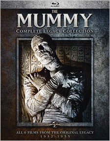 The Mummy: Complete Legacy Collection (Blu-ray Disc)