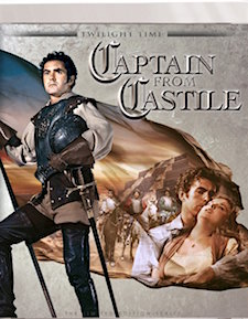 Captain from Castile (Blu-ray Disc)