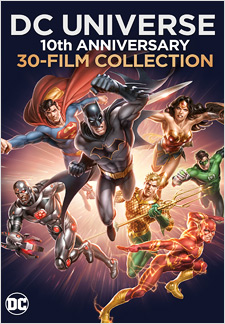 DC Universe: 10th Anniversary Collection (Blu-ray Disc)