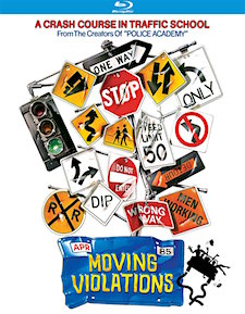 Moving Violations (Blu-ray Disc)