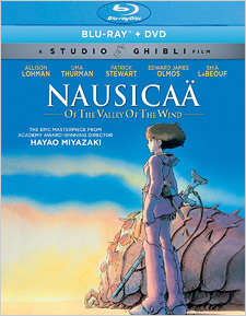 Nausicaa and the Valley of the Wind (GKids Blu-ray Disc)