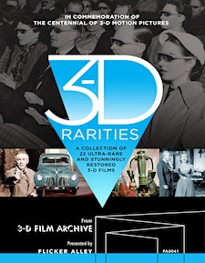 3-D Rarities (Blu-ray 3D)