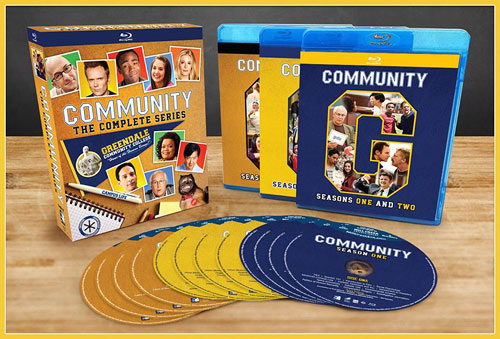 Community: The Complete Series (Blu-ray Disc)