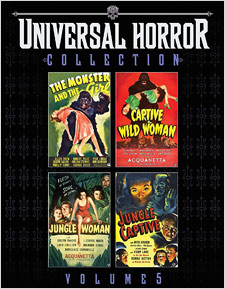 Universal Horror Collection: Volume 5 (Blu-ray Disc)