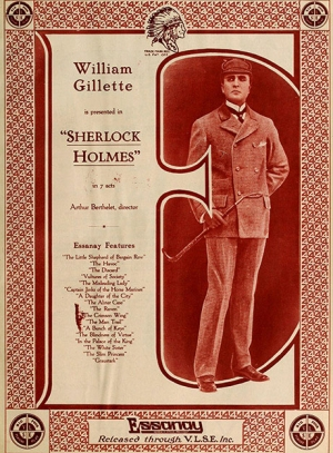 Lost Sherlock Holmes film discovered