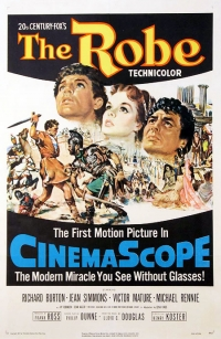 The Robe - 1st film in CinemaScope