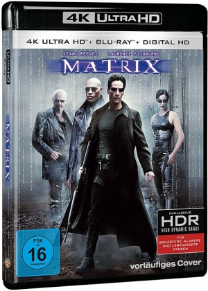 The Matrix (German 4K Ultra HD Blu-ray)