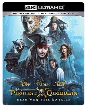 Pirates of the Caribbean: Dead Men Tell No Tales (4K Ultra HD)