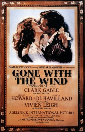 Gone with the Wind one sheet