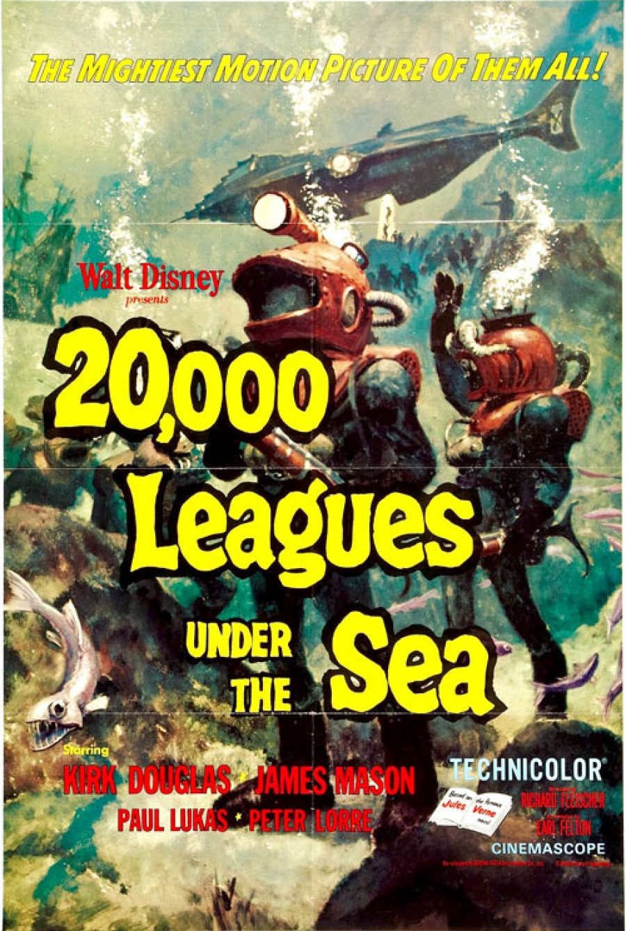 20,000 Leagues Under the Sea is coming to Blu-ray as a