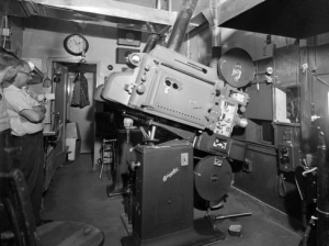 Analog film projection RIP