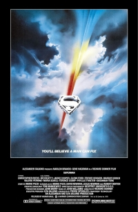 Superman: The Movie one sheet