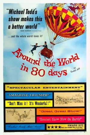 Around the World in 80 Days one sheet