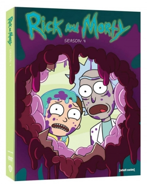 Rick and Morty: Season 4 (Blu-ray Disc)