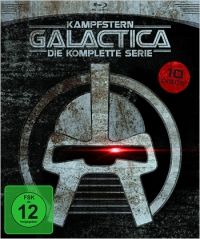 Battlestar Galactica on BD in Germany - our review