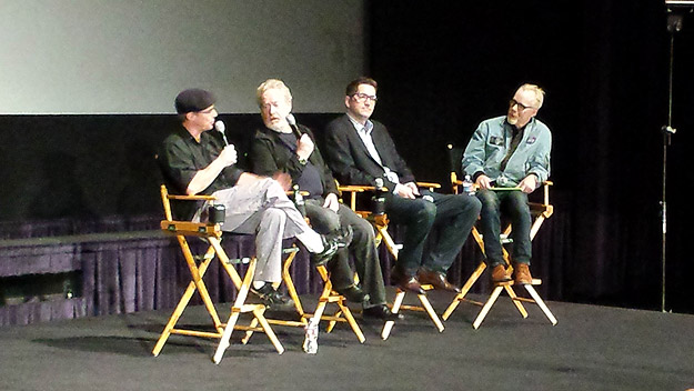 Mars 101 panel with Andy Weir, Ridley Scott, Drew Goddard, and Adam Savage