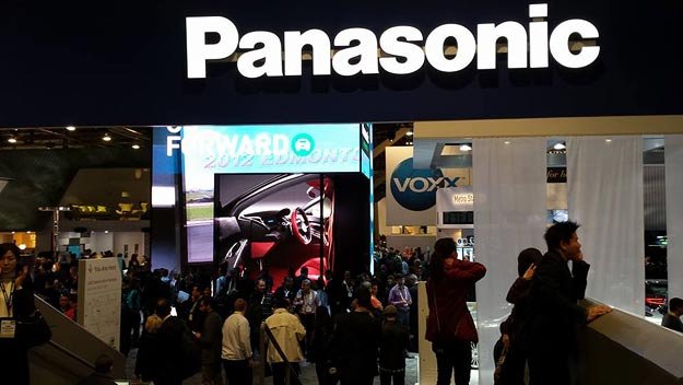 The Panasonic booth at CES 2016